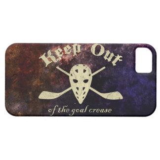 Hockey Goalie Goal Crease iPhone SE/5/5s Case