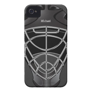 Hockey Goalie Helmet iPhone 4 Case