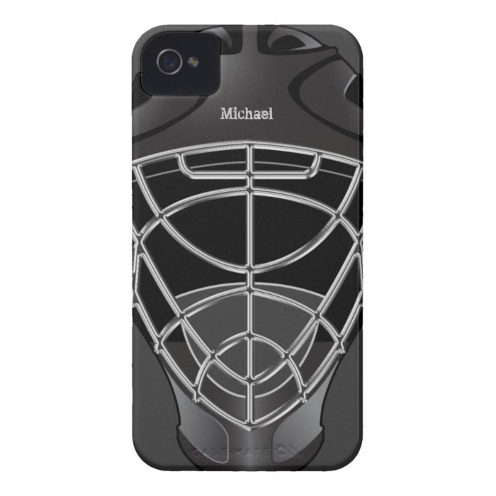 Hockey Goalie Iphone Cases