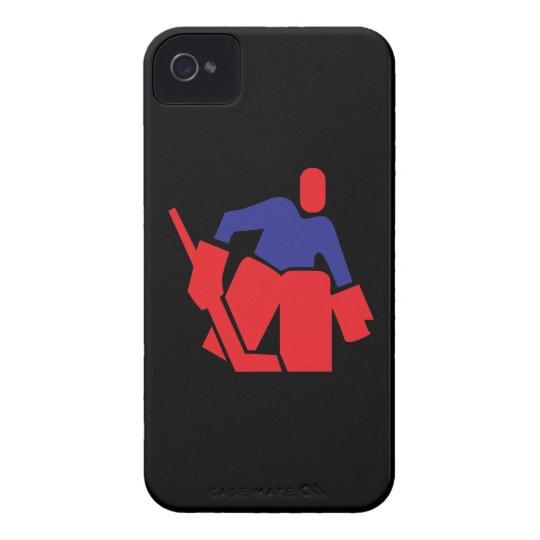 Hockey Goalie iPhone 4 Case-Mate Case