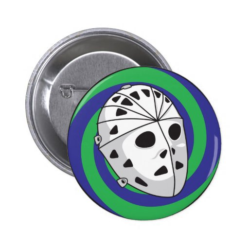 hockey goalie mask buttons