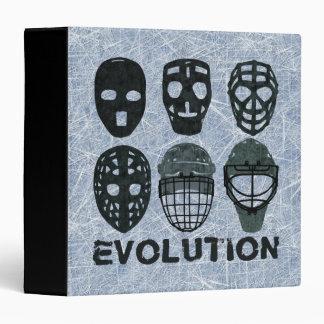 Hockey Goalie Mask Evolution Binder