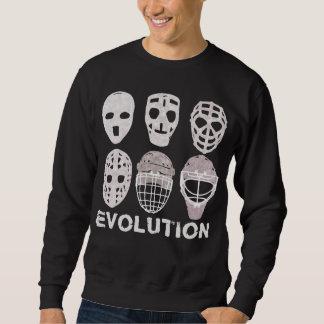 Hockey Goalie Mask Evolution Sweatshirt