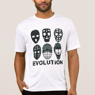 Hockey Goalie Mask Evolution T Shirt