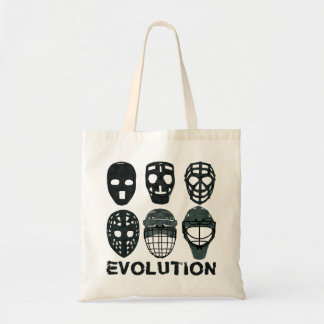 Hockey Goalie Mask Evolution Tote