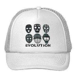 Hockey Goalie Mask Evolution Trucker Hat