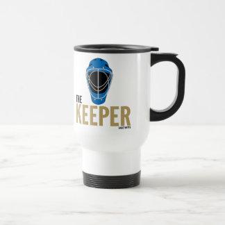 Hockey Goalie Mask Keeper Travel Mug