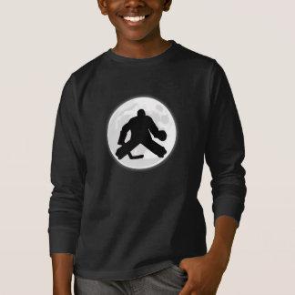 Hockey Goalie Moon T-Shirt