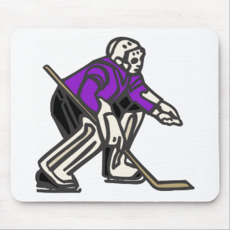 Hockey Goalie Mouse Pad