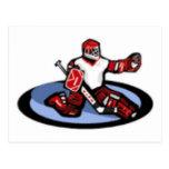 Hockey Goalie Post Cards