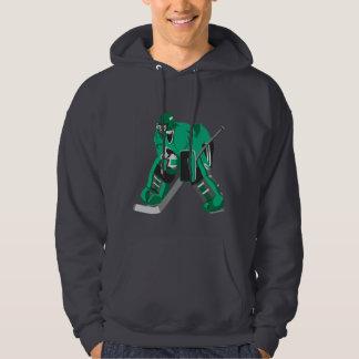 hockey goalie ready hoodie
