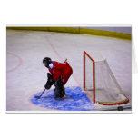 hockey goalkeeper card