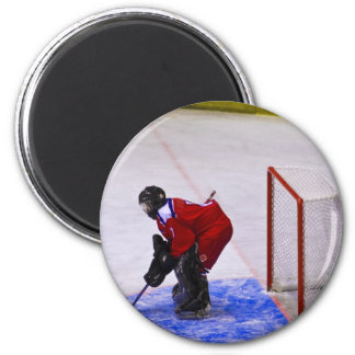 hockey goalkeeper magnet