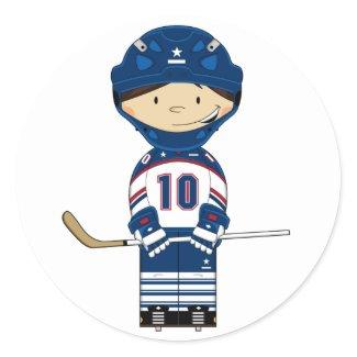 Hockey Goalkeeper Sticker sticker