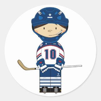 Hockey Goalkeeper Sticker
