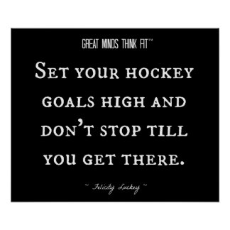 Hockey Goals 007 Posters