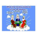 Hockey Gods Postcard