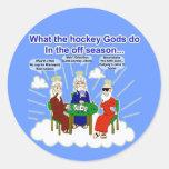 Hockey Gods Sticker