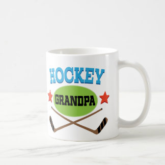 Hockey Grandpa Coffee Mugs