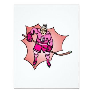 Hockey Grannies Card