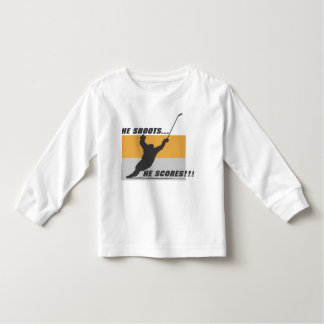Hockey: He shoots...he scores! Toddler T-shirt