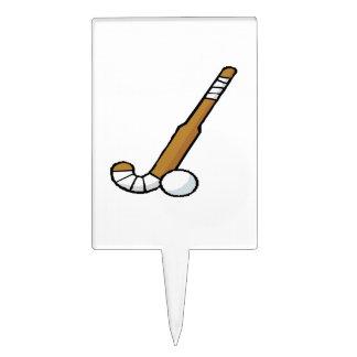 Hockey hierba 6 figura para tarta