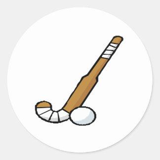 Hockey hierba 6 pegatinas