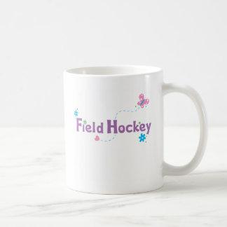 Hockey hierba del alboroto del jardín taza de café