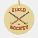 Hockey hierba ornamento de navidad