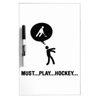 Hockey hierba pizarras blancas