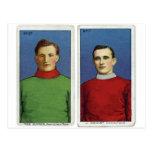 Hockey hierba retro de la tarjeta del cigarrillo postal