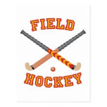 Hockey hierba tarjeta postal