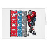 Hockey, Hockey, Hockey Greeting Cards