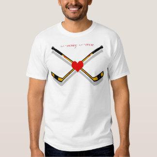 hockey hottie t shirt