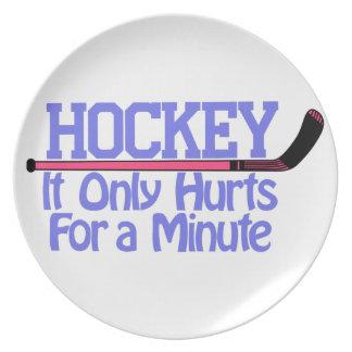 Hockey Hurts Plate