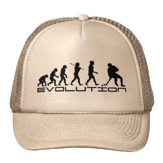 Hockey Ice Hockey Sport Evolution Art Hat