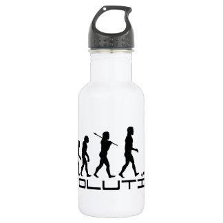 Hockey Ice Hockey Sport Evolution Art Stainless Steel Water Bottle