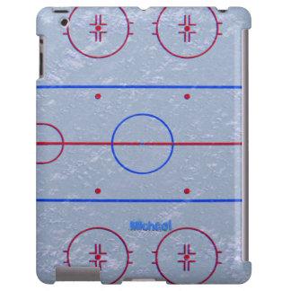Hockey Ice Rink iPad Case