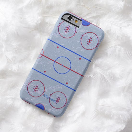 Hockey Ice Rink Pitch Barely There iPhone 6 Case