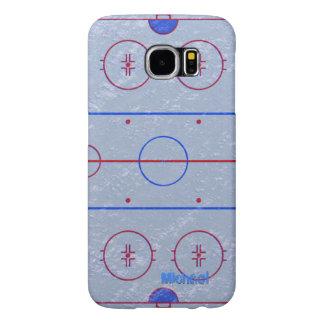 Hockey Ice Rink Samsung Galaxy S6 Cases