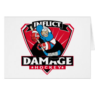 Hockey Inflict Damage Card