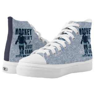 4fe2869f4e48 Hockey Is a Way of Life High Tops Sneakers