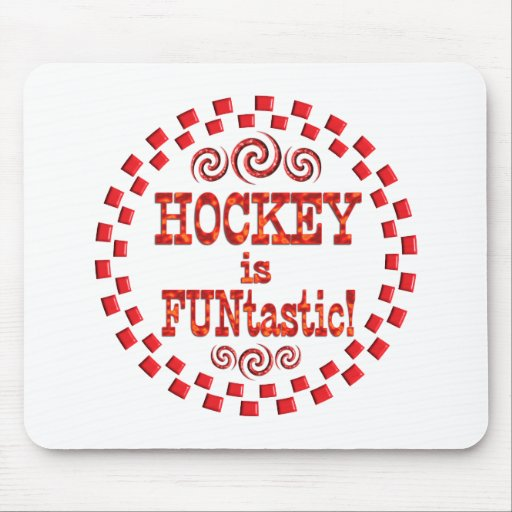Hockey is FUNtastic Mouse Pad