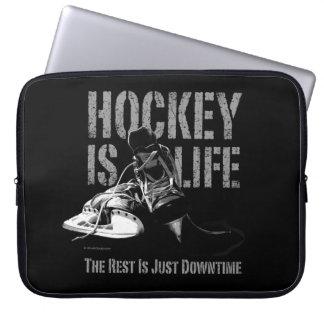 Hockey Is Life Computer Sleeve