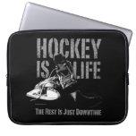 Hockey Is Life Computer Sleeves