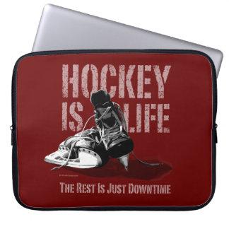 Hockey Is Life Laptop Sleeve