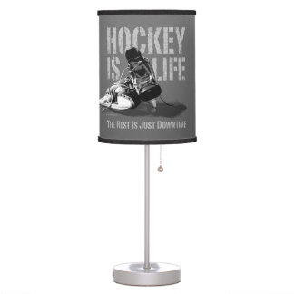 Hockey Is Life Table Lamp