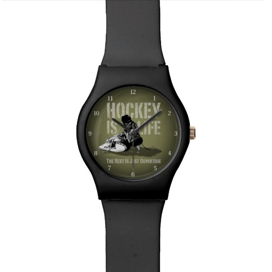 Hockey Is Life Wrist Watch