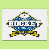 Hockey is My Life Card