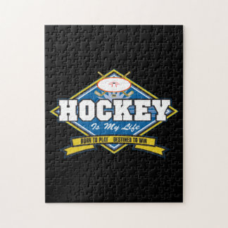 Hockey is My Life Puzzle